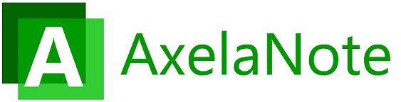 AxelaNoteロゴ